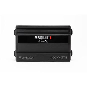 MB Quart FA1-400.4 Formula Series 4 x 50 Watts @ 4 ohms, 4 x 100 Watts @ 2 Ohms , 2 x 200 Watts Bridged @ 4 Ohms