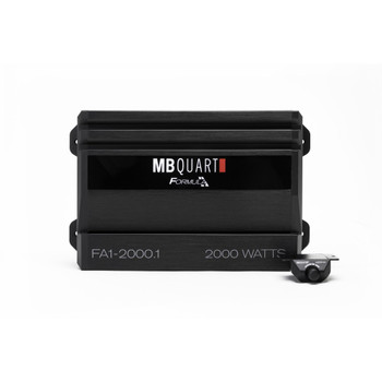 MB Quart FA1-2000.1 Formula Series 1 x 375 Watts @ 4 Ohms, 1 x 750 Watts @ 2 Ohms, 1 x 2000 Watts @ 1 Ohm