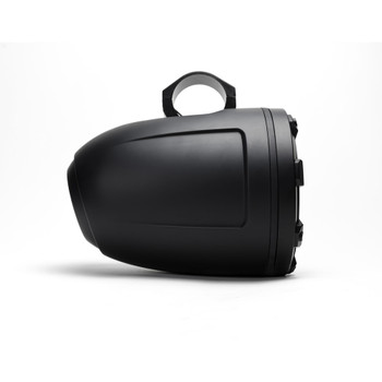 MB Quart NPT1-120 Nautic Premium Waterproof 8 Inch Marine Wake Tower Speakers (black, Pair) With 3 Grill Colors Included