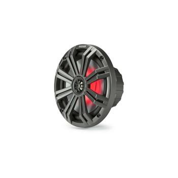 "Kicker 8"" Charcoal Marine LED Speakers - 3-Pairs of OEM replacement speakers"
