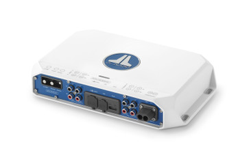 JL Audio MV400/4i 4-channel Class D Full-Range Amplifier with integrated DSP, 100 W x 4 @ 2 ohm/75W x 4 @ 4 ohm - 14.4V