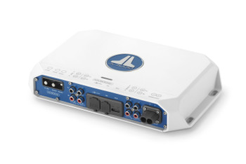 JL Audio MV600/2i 2-channel Class D Full-Range Amplifier with integrated DSP, 300 W x 2 @ 2 ohm/180W x 2 @ 4 ohm - 14.4V
