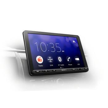 "Sony XAV-AX8000 8.95"" Bluetooth Media Receiver with SiriusXM Satellite Radio Kit"