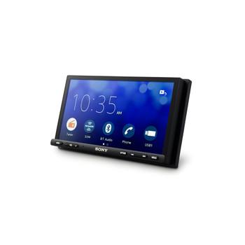 Sony XAV-AX7000 High Power Media Receiver with SiriusXM Satellite Radio Kit, Steering Wheel Interface