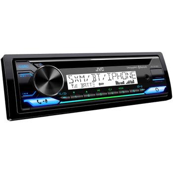 JVC KD-T91MBS Marine Receiver with CD Bluetooth, USB, SiriusXM Ready, Amazon Alexa, Conformal Coated PCB