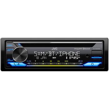 JVC KD-TD91BTS - CD Receiver w/ Bluetooth, USB, Amazon Alexa, SirusXM Ready + SWI-RC Steering Wheel Control Interface