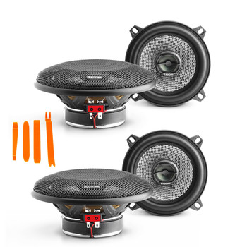 "Focal- Two pairs of Access 130ac 5.25"" coaxial speakers"