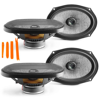 Focal- Two pairs of Access 690AC 6x9 coaxial speakers