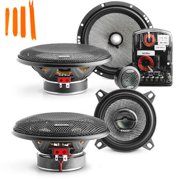 "Focal -One pair of 165AS Access 6.5""Component and One pair of 4"" Access 100AC coaxial"