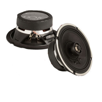 """ARC Audio for Harley Davidson 1 Pair Of Moto602V2 6.5"""" Speakers + 1 Pair 6.5"""" Speaker Adapter Rings"""
