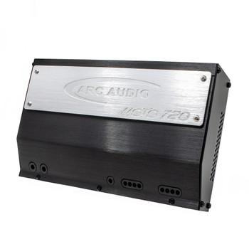 ARC Audio for Harley Davidson - MOTO-720 720 Watt 4 Channel Amplifier + Harley Harness Amplifier & Power Wiring Kit