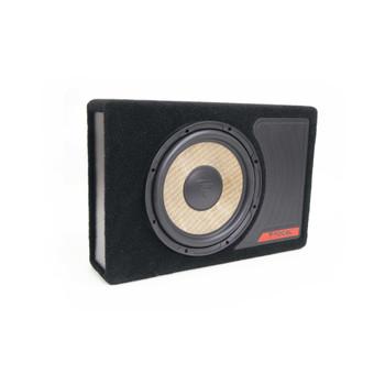 "Focal FDS2.350 2-Channel Amplifier + Flax-Universal-10 10"" Loaded Subwoofer Enclosure Bundle"