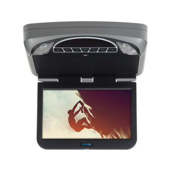 "Audiovox Overhead Mobile Video MTGBAVX10 10.1"" High Def System with DVD and HDMI with 2 pair of headphones"