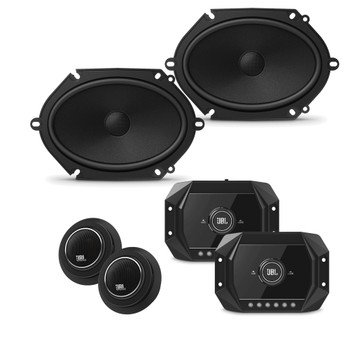 "JBL Stadium For Ford Bundle 2-Pairs STADIUMGTO860CAM 6x8"" + BASSPROHUB 12"" Powered Subwoofer"
