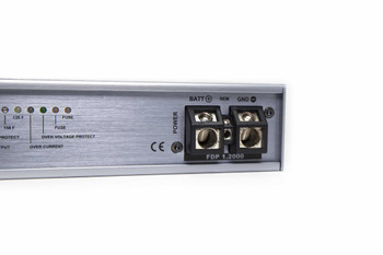 Focal FDP-1.2000 1 Channel amplifier, 1 x 1200 @ 4ohms or 1 x 2000W @ 2ohms