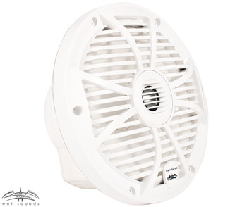 "Wet Sounds SW-808 White Cone 8"" Coaxial Speakers (Pair) - Used Very Good"