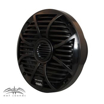 """Wet Sounds SW Series Black Closed Grill 6.5"""" Speakers 200 Watt Peak Power. - Used Very Good"""