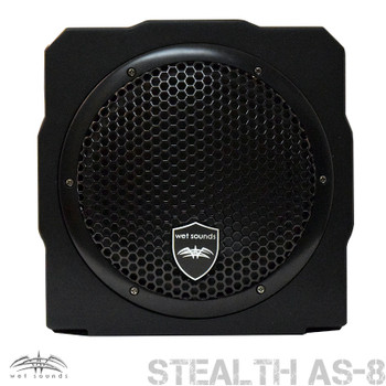 Wet Sounds Stealth AS-8 350 watt Active Subwoofer Enclosure - Used Very Good