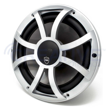 Wet Sounds REVO 10CX XS-S Silver XS Grill 10 Inch Marine High Performance LED Coaxial Speakers (pair) - Used Very Good