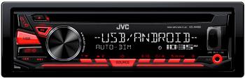 JVC KD-R480 CD Receiver featuring USB/AUX Input