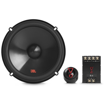 """JBL Stage3607CFAM Stage3 6-1/2"""" Two-Way Car Audio Component System W/Crossovers - No Grills"""