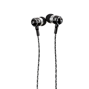 Kicker 46EB54 EB54 Wired Earbuds With Microphone, Black