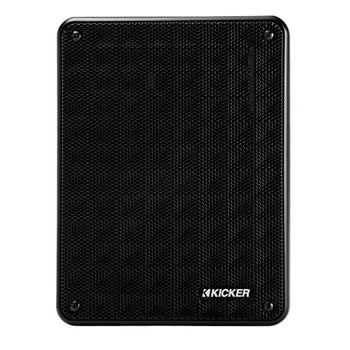 Kicker KB6 Indoor Outdoor Patio Speaker Bundle in Black 6 Speakers total