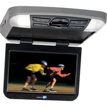 """'Audiovox AVXMTG10UA 10"""" Overhead Monitor W/ Built-In DVD Player USB/SD Input & Remote'"""