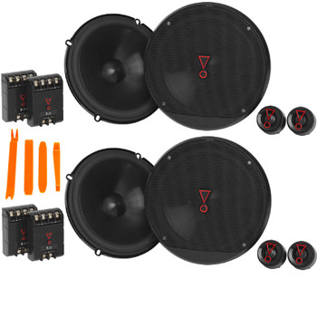 "JBL STAGE3 2-Pairs of Stage3 607CAM 6.5"" Component Speakers"