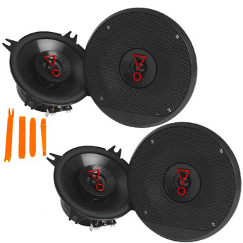 """JBL STAGE3 2-Pairs of Stage3 427AM 4"""" Coaxial Speakers"""