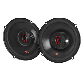 """JBL STAGE3 2-Pairs of Stage3 637FAM 6.5"""" 3-Way Coaxial Speakers - No Grills"""