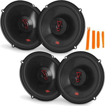 """JBL STAGE3 2-Pairs of Stage3627FAM 6.5"""" 2-Way Coaxial Speakers - No Grills"""