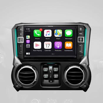 Alpine X409-WRA-JK Ultimate Audio Accessory bundle for 2011-18 Jeep Wrangler