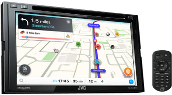 JVC KW-V940BW compatible with CarPlay, Wireless Android Auto 2-DIN CD/DVD AV Receiver