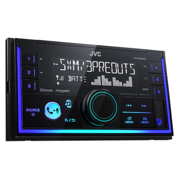 JVC KW-X830BTS 2-Din Digital Media Receiver featuring Bluetooth / USB / SiriusXM / Pandora / Spotify / 13-Band EQ