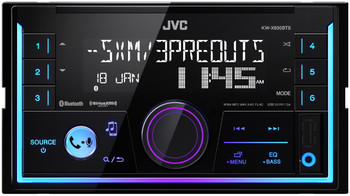 JVC KW-X830BTS 2-Din Digital Media Receiver featuring Bluetooth / USB / SiriusXM / Pandora / Spotify / 13-Band EQ