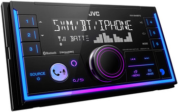 JVC KW-X840BTS 2-Din Digital Media Receiver featuring Bluetooth/USB/SiriusXM/Amazon Alexa