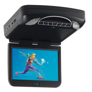 "10.1"" Digital High Def Overhead Monitor System with DVD and HD Inputs"