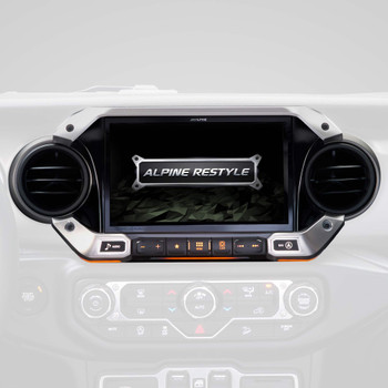 Alpine X409-WRA-JL with w/ HCE-TCAM1 Camera, KAC-001Accessory Controller bundle for 2018 and Up Jeep Wrangler JL