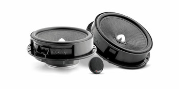 """Focal Kit For Golf 6/Bora/Jetta MK6 09-14 - Includes Two Pairs Of IS165VW Component 6.5"""" Speakers & FDS4.350 Amplifier"""
