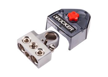 Kicker 46BT4 BTPN3 Positive Or Negative Battery Terminal, 2-0/8GA 1-4/8GA OUT