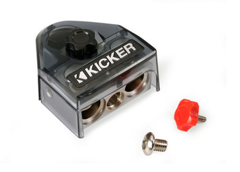 Kicker 46BT4 BTPN3 Positive Or Negative Battery Terminal, 2-0/8GA 1-4/8GA OUT