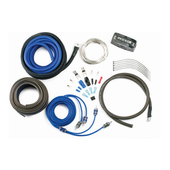 Kicker 46CK8 K-Series Complete 8-AWG Amplifier Connection Kit W/ 2-Channel RCA Interconnects