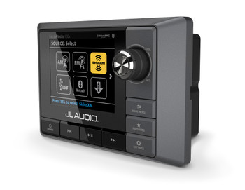 JL Audio MediaMaster MM100S Mechless Receiver AM/FM weather band tuner and Bluetooth