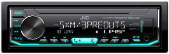 JVC KD-X350BTS Digital Media Receiver w/ Bluetooth, includes SXV300 SiriusXM Satellite Radio Tuner