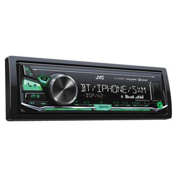 JVC KD-X340BTS Bluetooth In-Dash Digital Media Car Stereo w/ Pandora & iHeartRadio Support with Sirius XM Tuner