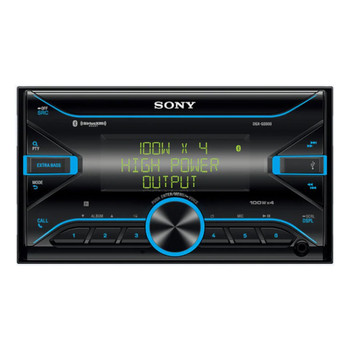 Sony DSX-GS900 Double-DIN High-power Bluetooth Media Receiver - 180 Watt RMS