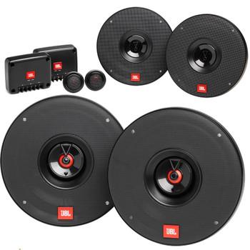 """JBL Bundle - 1-Pair  of CLUB-602CAM 6.5"""" Component speakers with 1-Pair of CLUB-622AM 6.5"""" Coax speakers"""