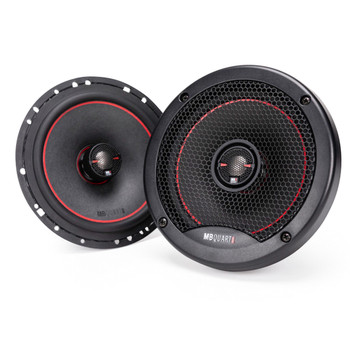 "MB Quart RK1-116 6.5"" Coaxial Speakers with RS1-216 6.5"" Component System  Reference Bundle"
