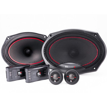 "MB Quart RS1-269 6x9"" Component System with RK1-113 5.25"" Coaxial Speakers Reference Bundle"